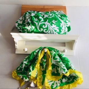 NWT Old Navy Clutch and Scarf